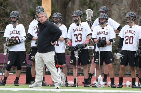 Iona defeated Stepinac 10-6 in lacrosse action at Iona Prep in New Rochelle April 11,  2019.