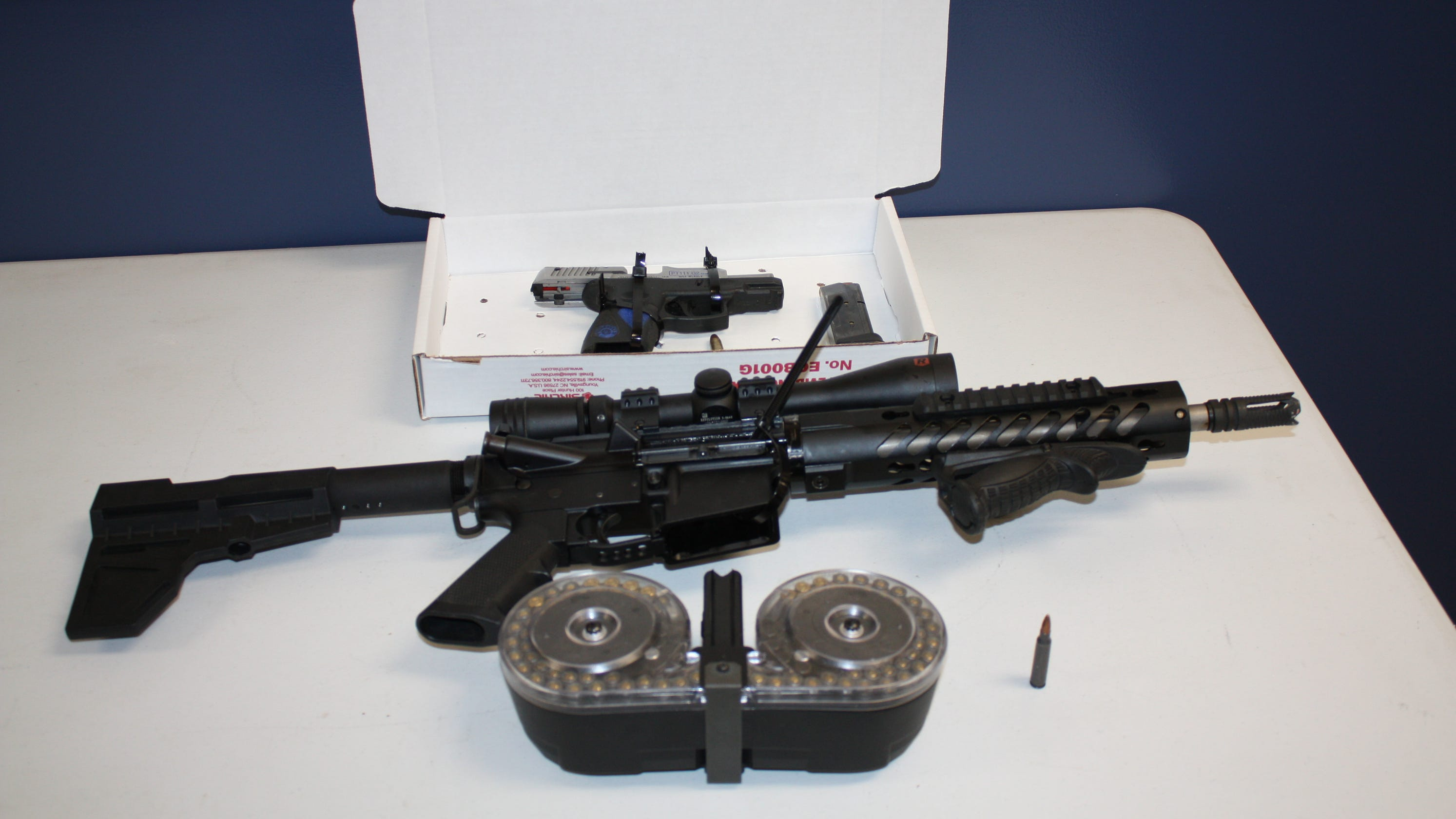 Driver arrested with assault rifle at Eastchester checkpoint: Cops