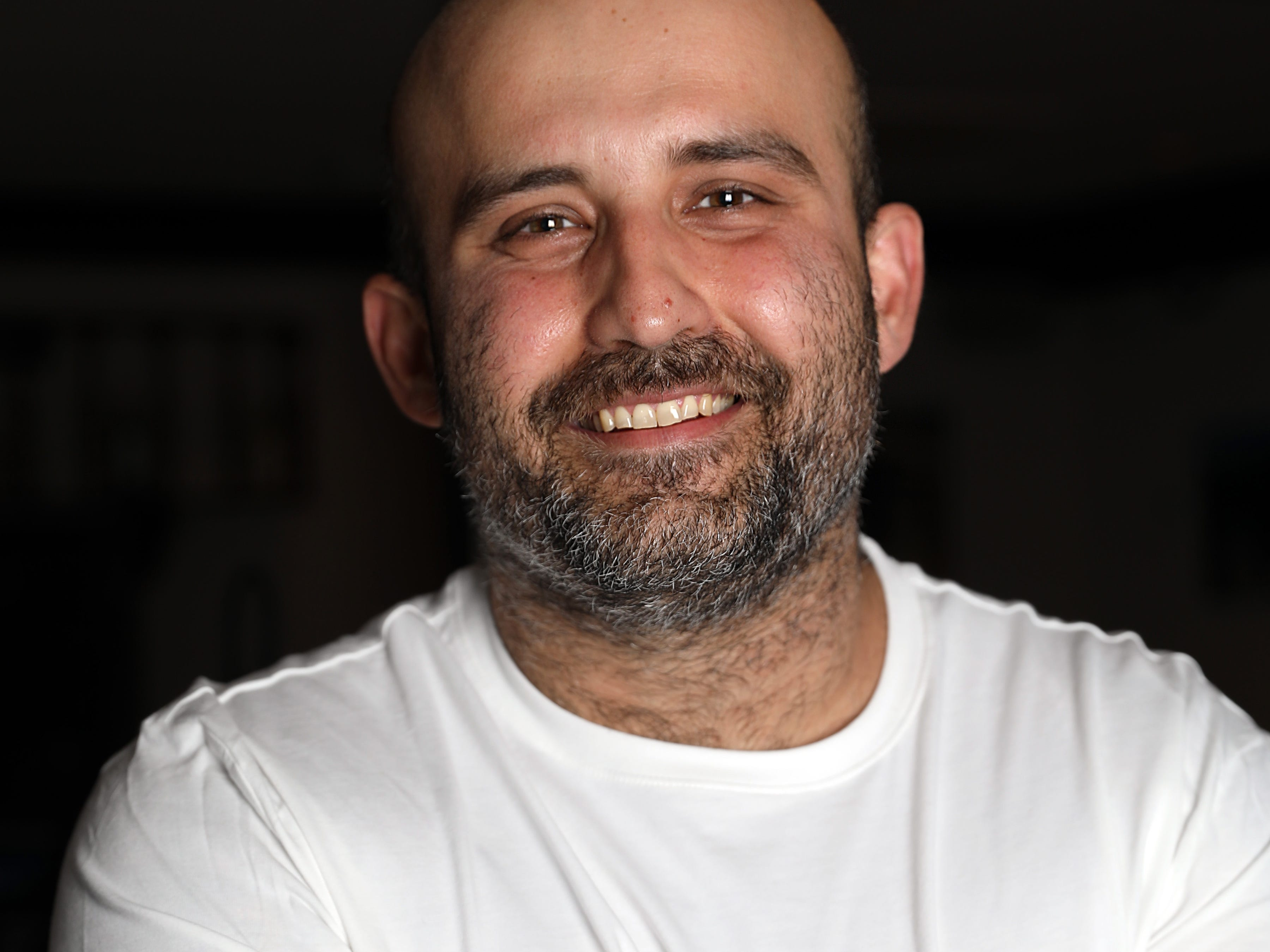 Chef George Kringas, owner of The Souvlaki Truck in Yonkers and Niko's Greek Taverna in White Plains March 22, 2019.