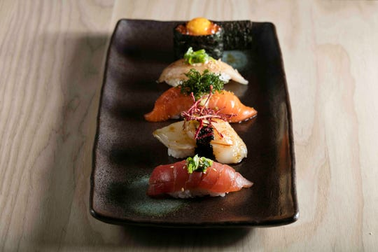 Sushi from OKO, a new restaurant coming to Rye this summer.