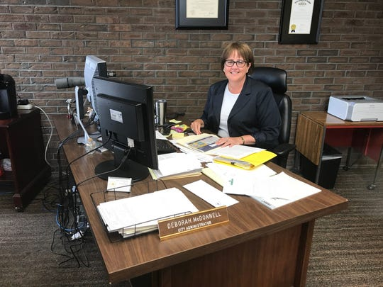 File photo: Nina Schutzman/Poughkeepsie Journal Deborah McDonnell is leaving her position as village manager of Ossining. She came to Ossining after serving as city administrator of Poughkeepsie.