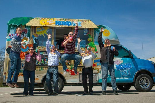 """The island-inspired Kona Ice truck will celebrate National """"Chill Out"""" Day on Monday, April 15, 2019, to give taxpayers a chance to cool off while rushing to pay their taxes on time. The free cups of ice will be available at the Wichita Falls Farmer's Market, 713 Ohio Ave.  from 11 a.m.-1 p.m."""