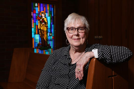 Mary Lou Staker is the Director of Faith Formation for St. Nicholas Catholic Church. She says her faith has helped her through trying times, including bouts with cancer and Parkinson's Disease.