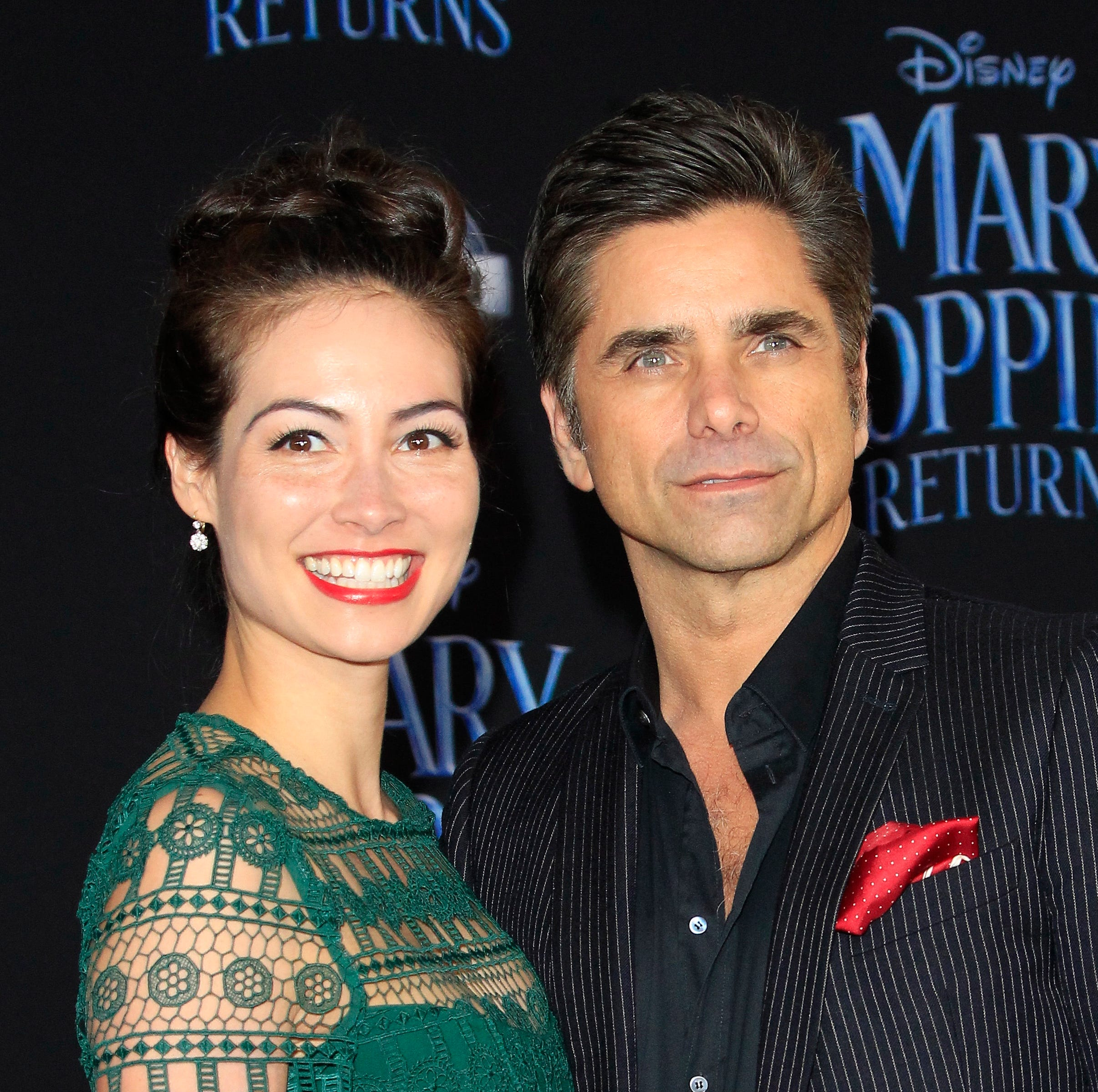 John Stamos and his wife Caitlin McHugh arriving for the premiere of Disney's 'Mary Poppins Returns' in Hollywood, Los Angeles, California, USA 29 November 2018.
