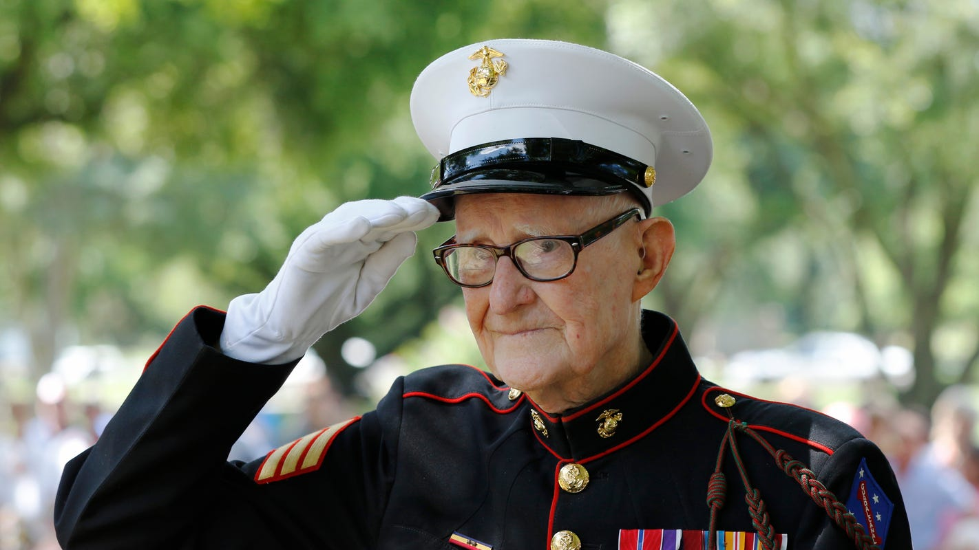 Marine whose book inspired HBO's 'The Pacific' dies at 96