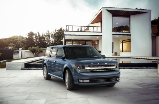 The 2019 Ford Flex.