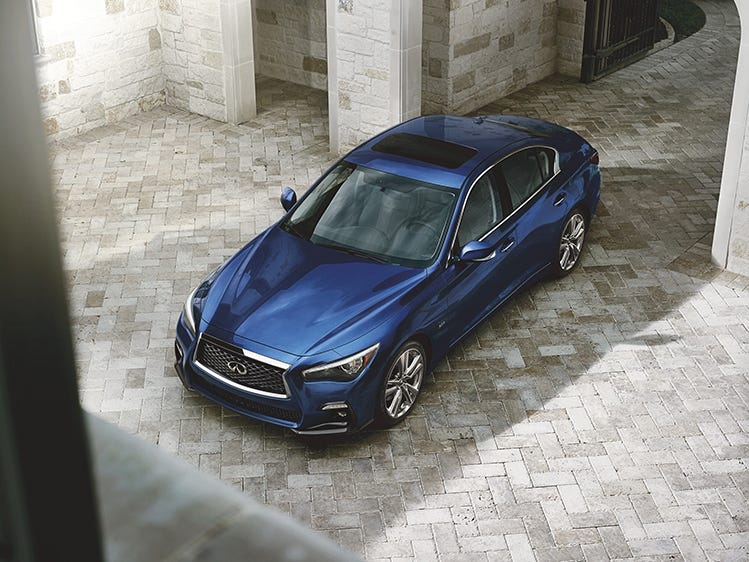 INFINITI introduces 2019 Q50 Signature Edition with added luxury exterior treatments and standard driver assistance features designed to empower the driver.