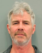 This undated photo provided by the Houston Police Department shows Timothy Williams. The actor and spokesman for the discount hotel website Trivago.com has been arrested in Texas on a misdemeanor driving while intoxicated charge. Court records show 52-year-old Williams was arrested Wednesday, April 10, 2019, in Houston and freed on $100 bond.