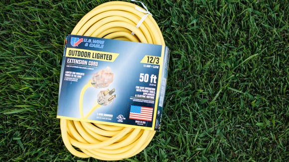 An affordable extension cord for all your spring projects.