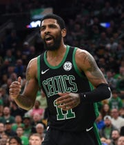 Celtics guard Kyrie Irving