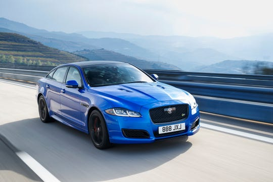 The 2019 Jaguar XJ.