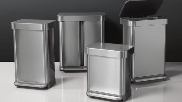 The sleekest trash can you will ever own.