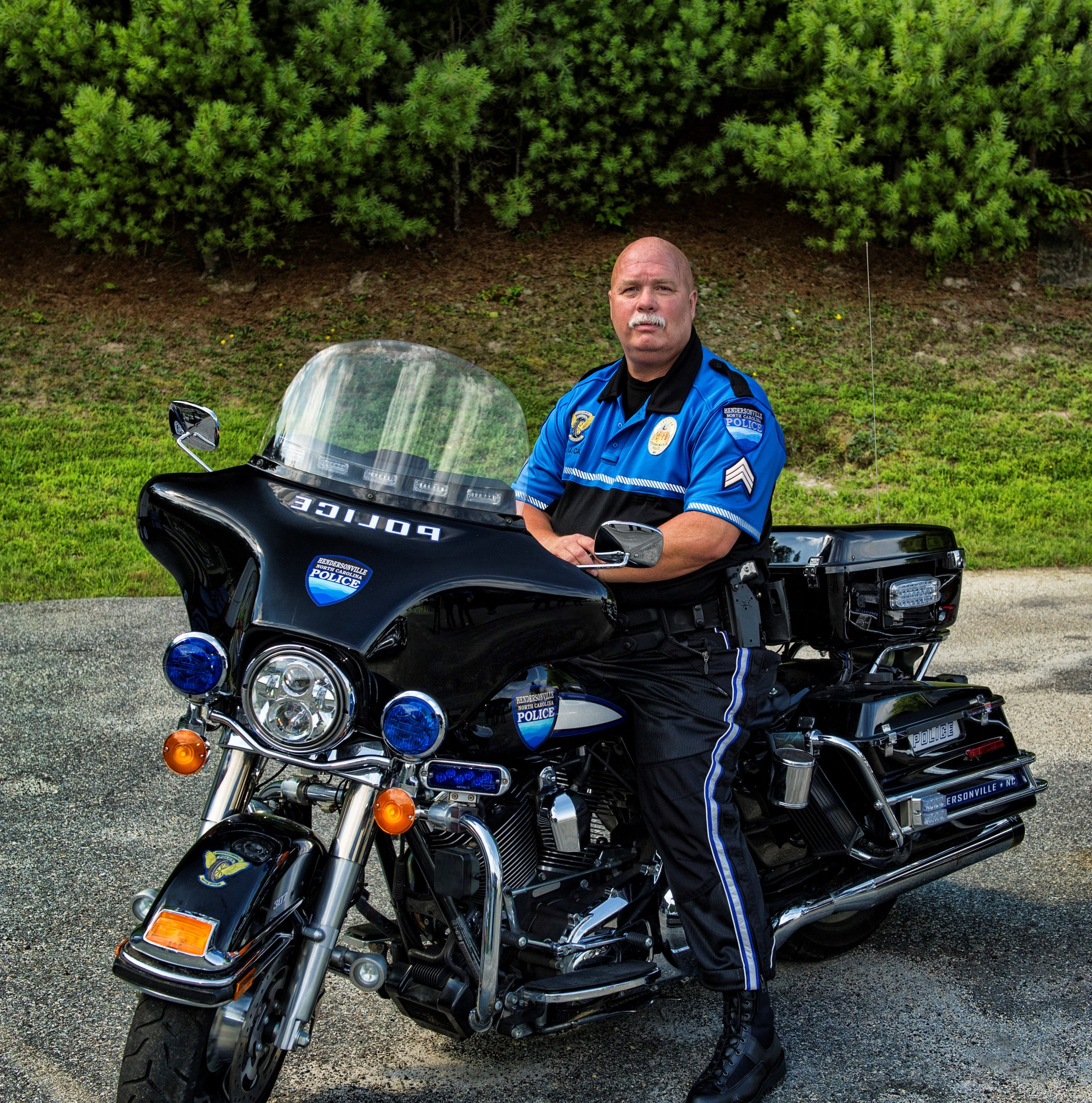 Hendersonville Police mourn the loss of Lt. Jimmy Case