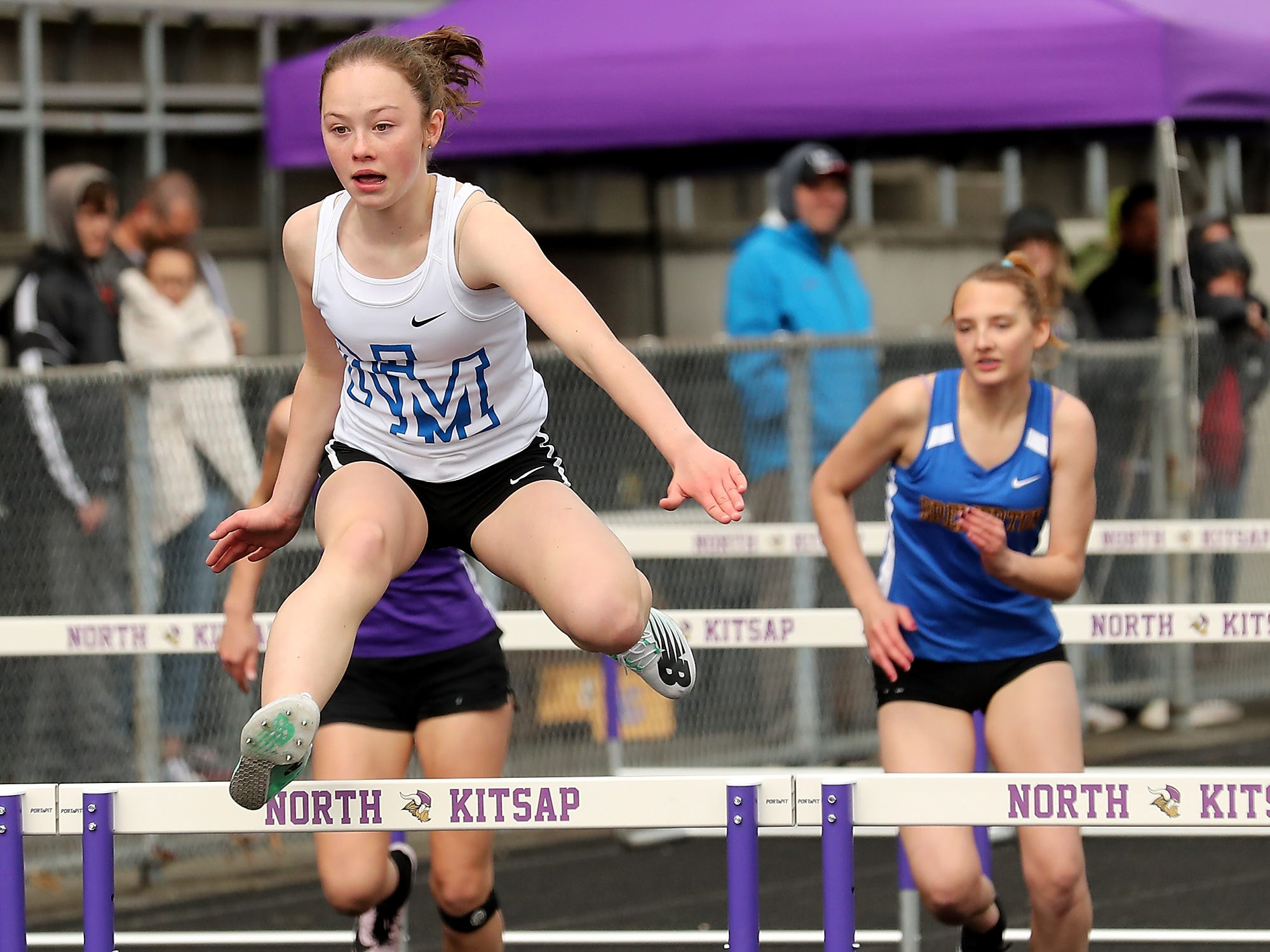 Lil' Norway Invitational at North Kitsap High School in Poulsbo on Saturday, April13, 2019.