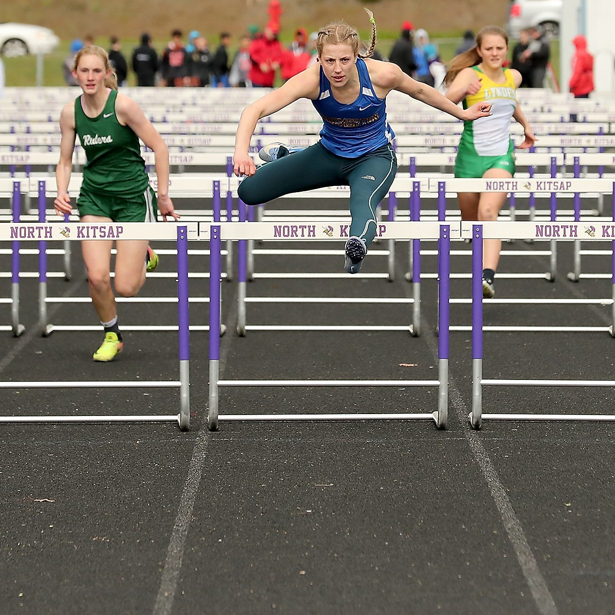 Mother Nature tests top talent at Lil' Norway track and field meet