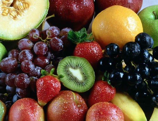 Photo of fresh fruit.