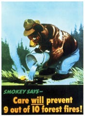 Smokey Bear poster from 1944.