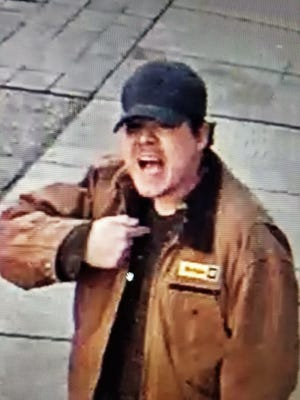 Police are seeking this man in a Friday night stabbing in the Greektown neighborhood of downtown Detroit.