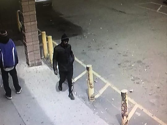 Police are also searching for this suspect.
