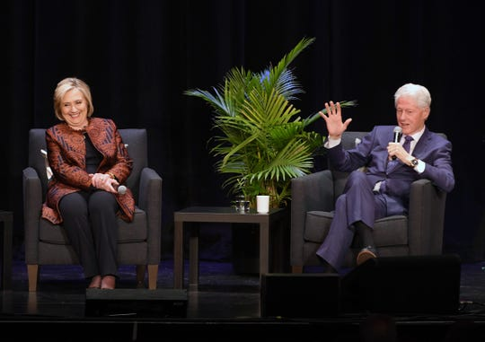 President Bill Clinton and former Secretary of State Hillary Rodham Clinton share their insights from decades of political involvement.