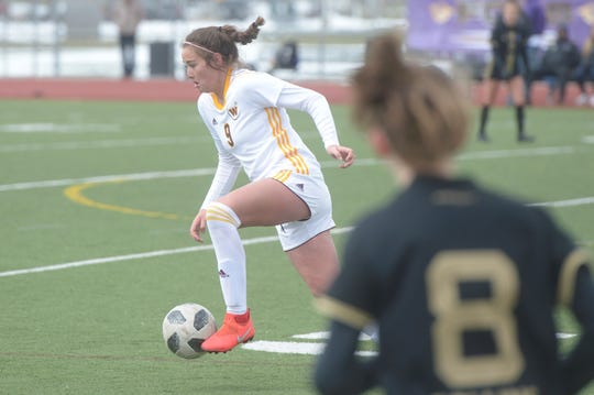 Windsor soccer player Carty Kingsbury has verbally committed to play soccer at Texas Tech.