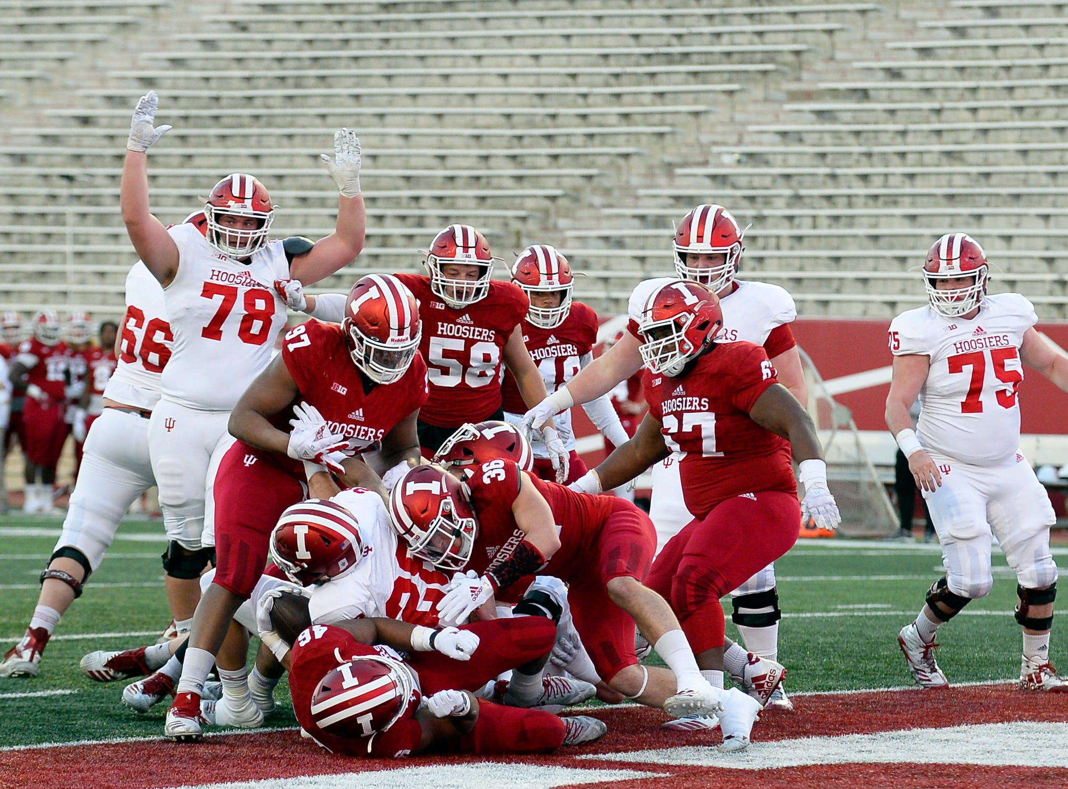 IU football spring game still leaves many questions unanswered