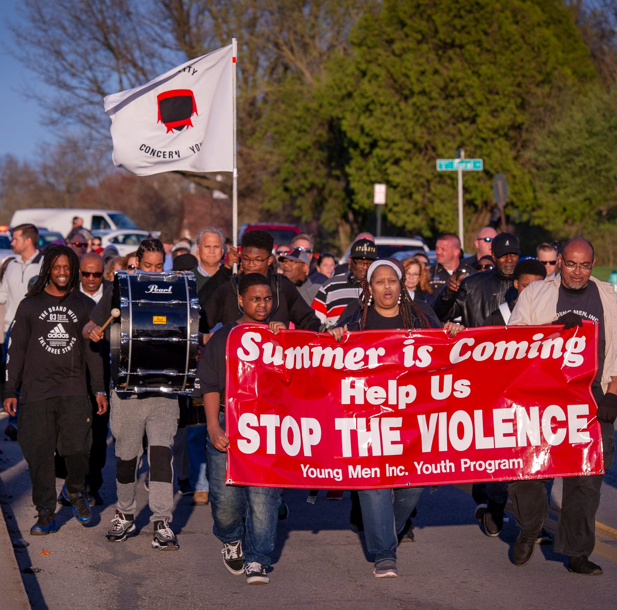 'It means something': Why Indianapolis residents walk for peace to end gun violence