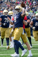 Notre Dame will count on Jafar Armstrong at running back in 2019.