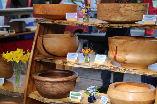 Dave Parelli sells a variety of handmade cedar Adirondack furniture and goods.
