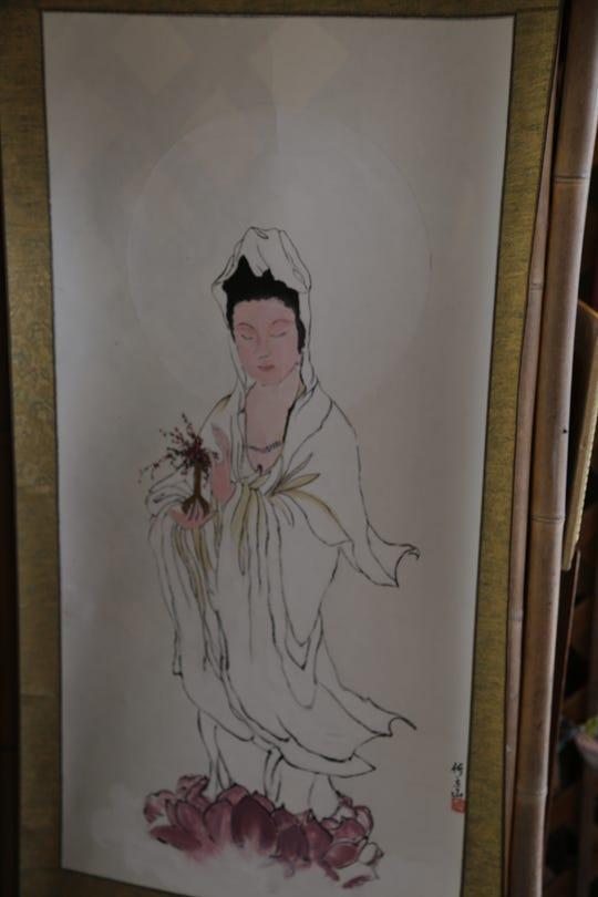 Jim Hardesty, of Dancing Brush Designs, makes Chinese paintings