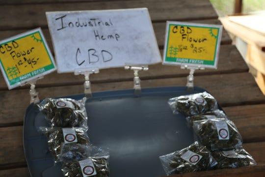 Ithaca Organics sells industrial hemp cannabidiol flowers.