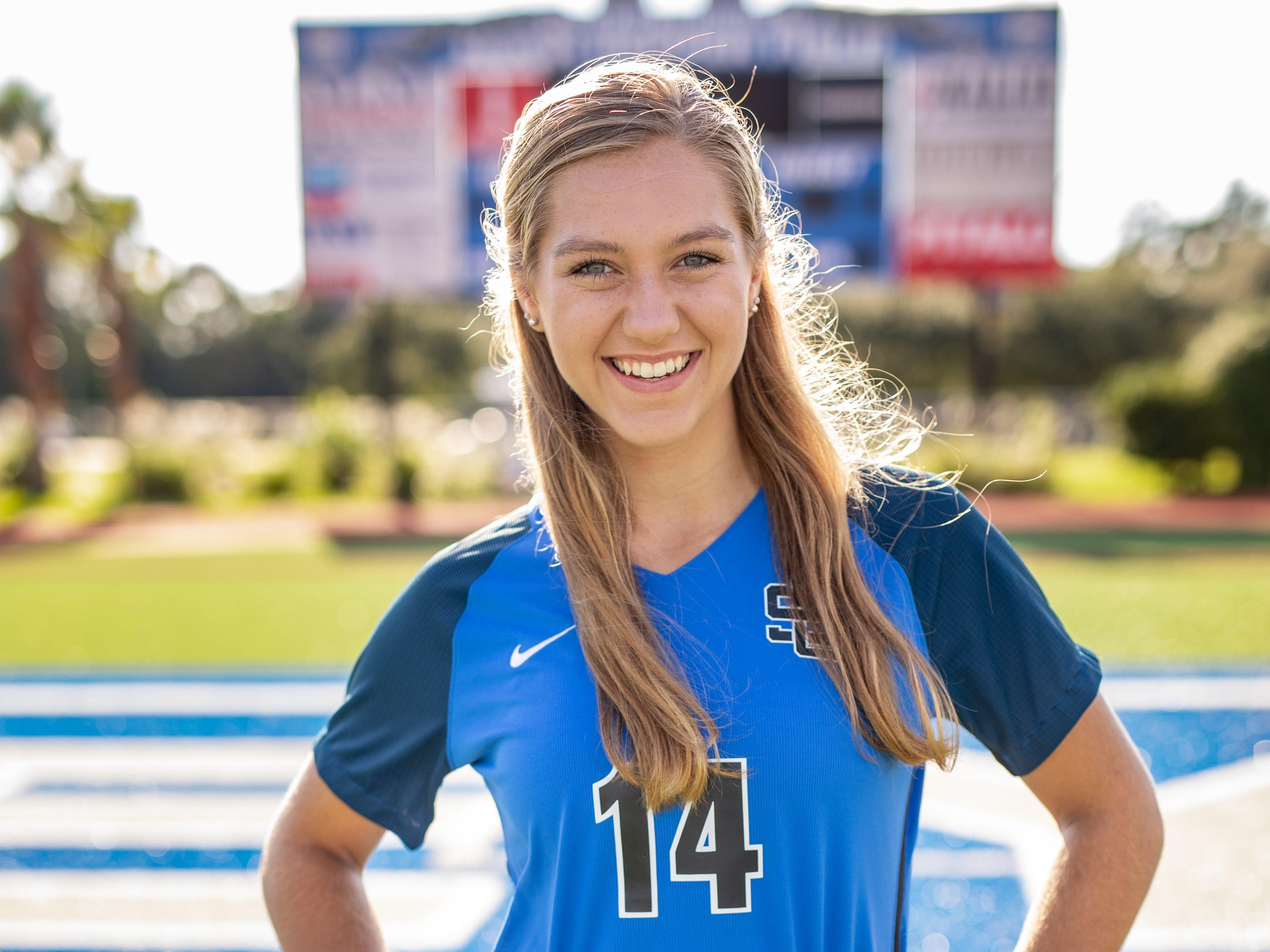 Kaylee Foster, senior, Ocean Springs
