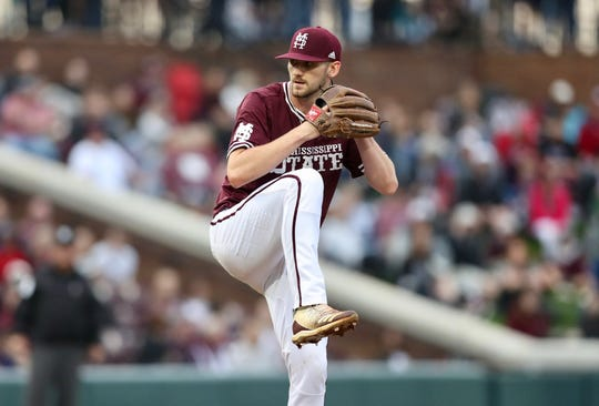 Mississippi State pitcher Ethan Small was selected in the second round of the MLB Draft on Monday night. Before making a decision on his long-term future, Small is set on trying to get the Bulldogs back to the College World Series.