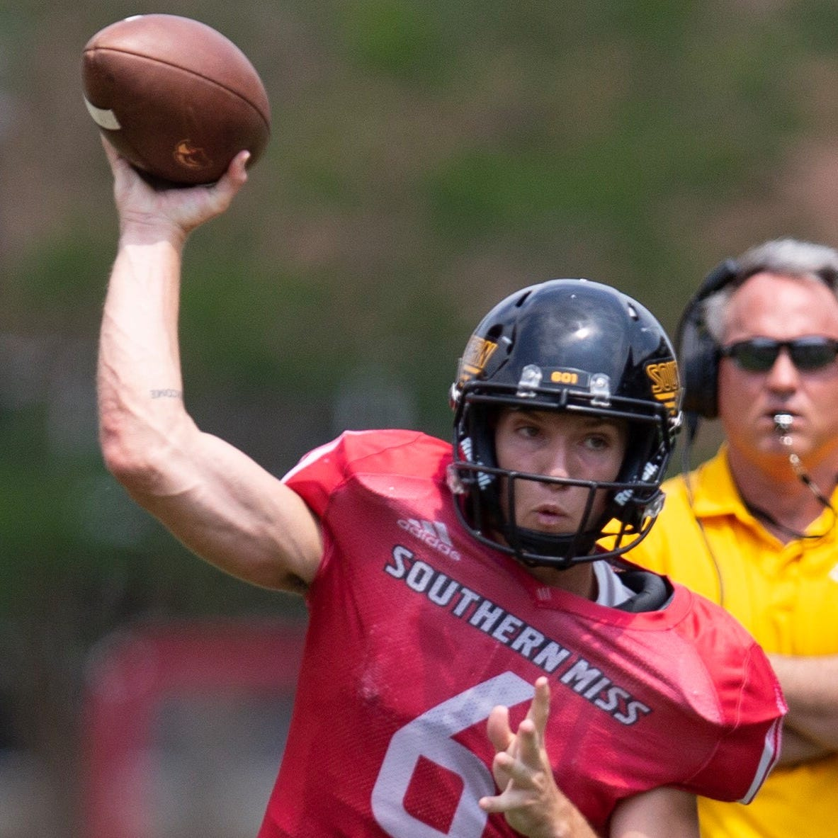 Which players stood out at Southern Miss' Black & Gold spring game?