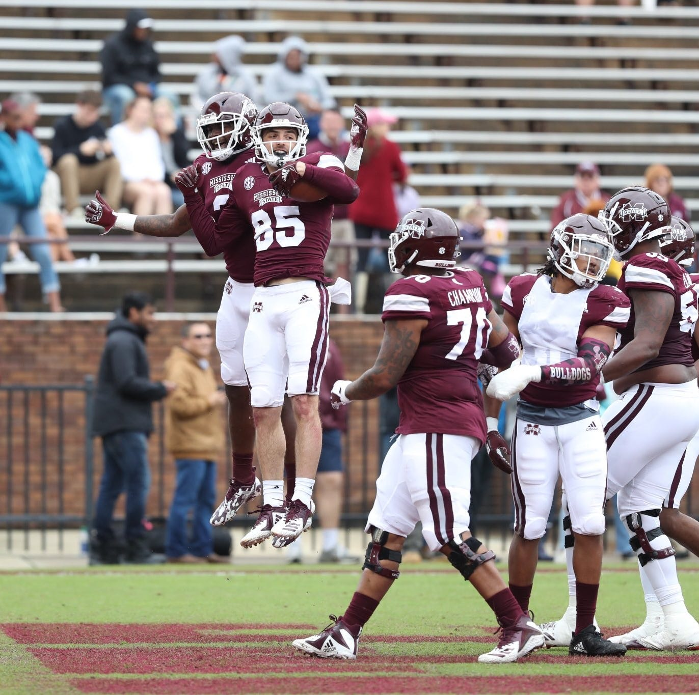 What we learned from Mississippi State's situational Maroon and White spring game