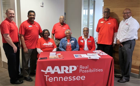 AARP Tennessee team members hosted a Jackson mayoral forum on issues affecting senior citizens at the LIFT in Jackson on Saturday, April 13.