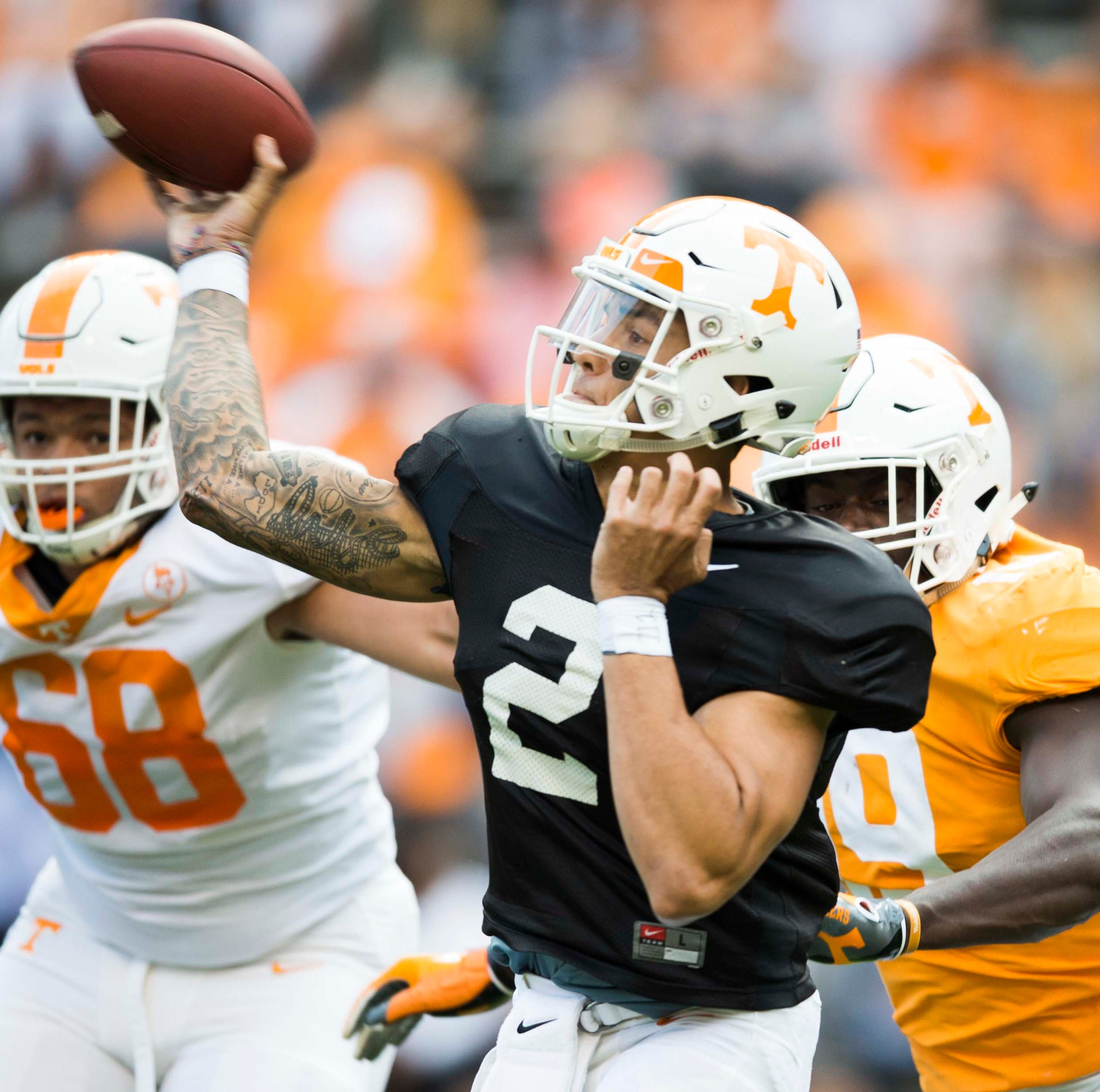 What we learned from UT Vols spring game: Jarrett Guarantano heats up after slow start