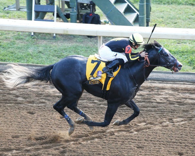 Knicks Go, winner of the 2018 Breeders' Futurity at Keeneland, will be one of 10 3-year-olds in Saturday's Super Derby at Louisiana Downs.