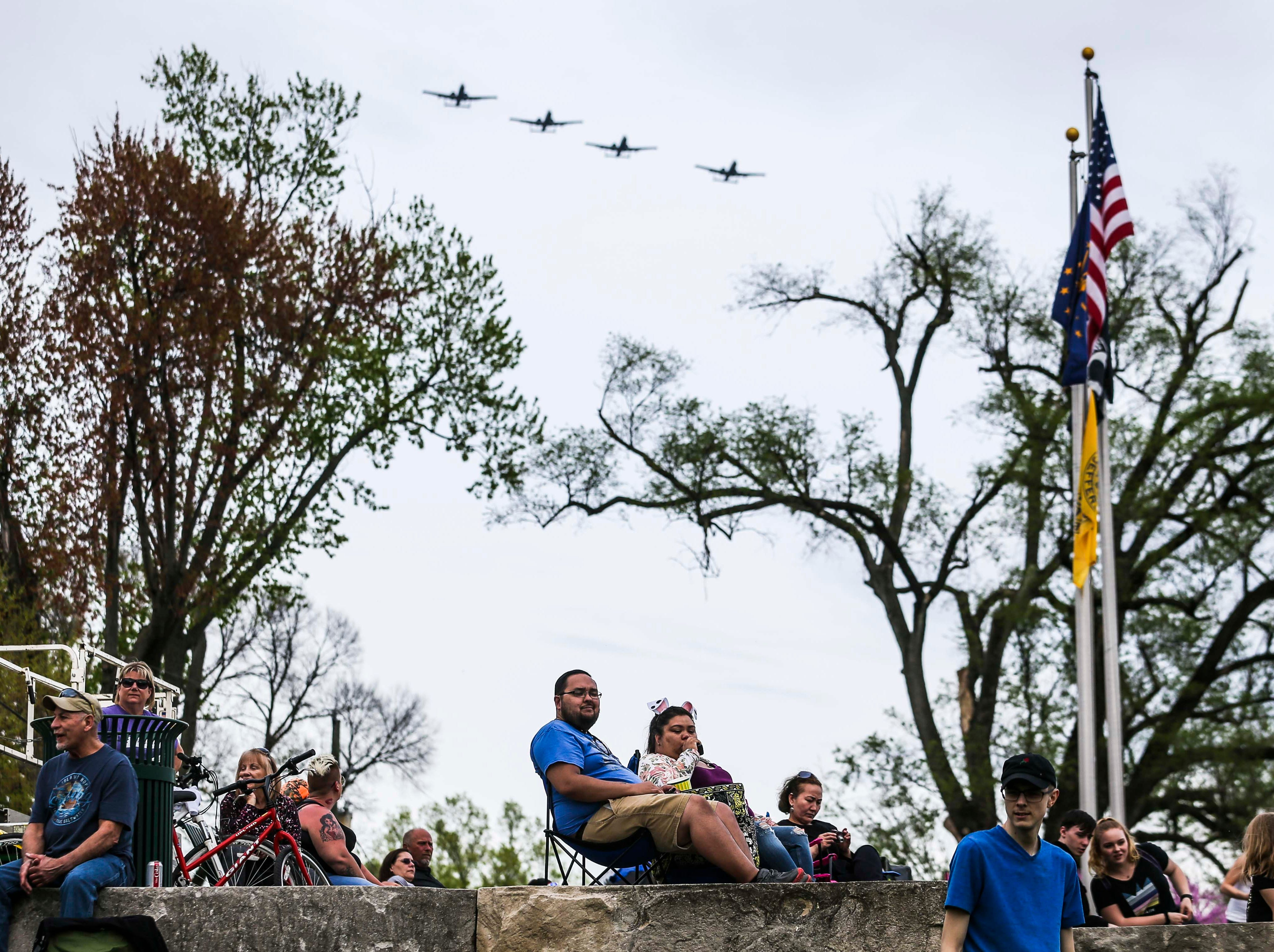 Scenes from the Jeffersonville during 2019 Thunder Over Louisville. April 13, 2019