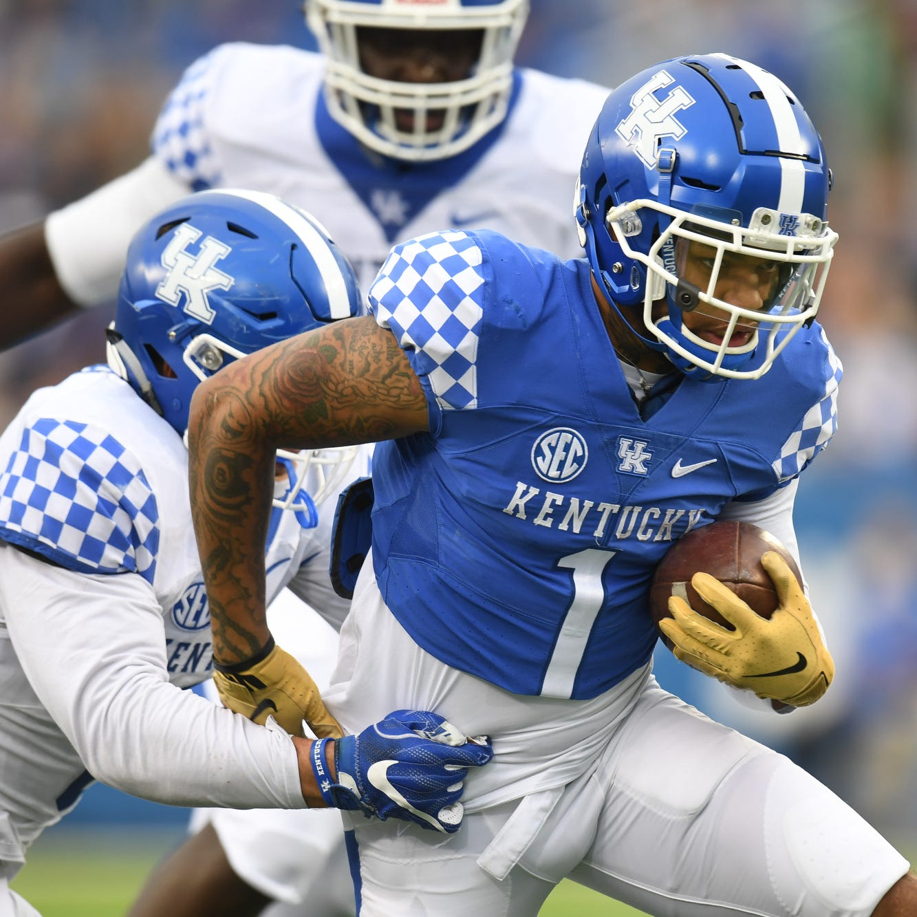 Kentucky football's spring game offers hope for a more explosive offense