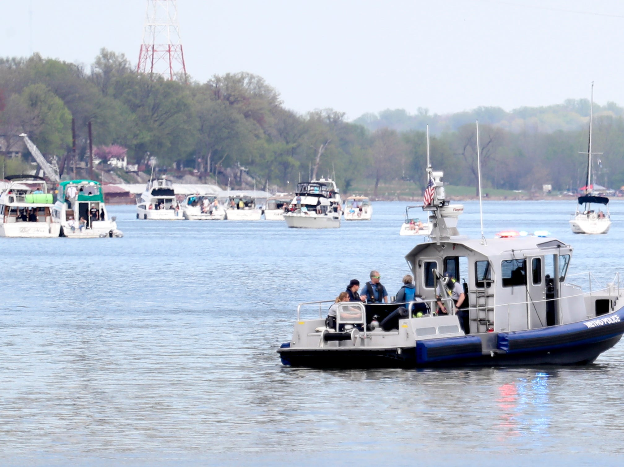 Scenes from Thunder Over Louisville on April 13.