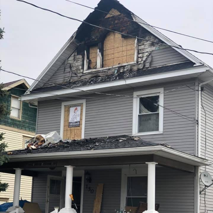 Five displaced after Boone Avenue blaze