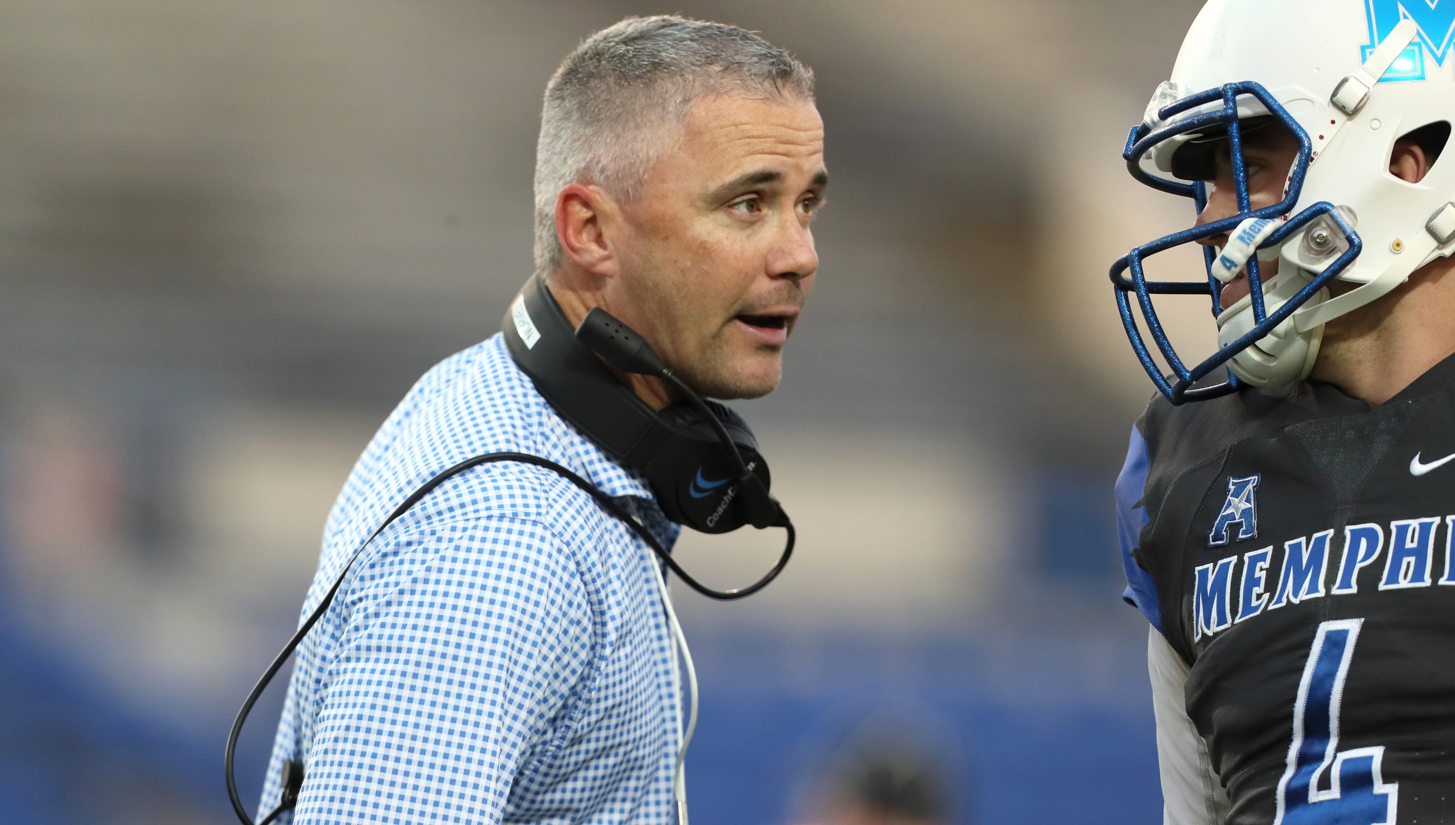 Memphis Football Mike Norvell Moves Ahead After Brady