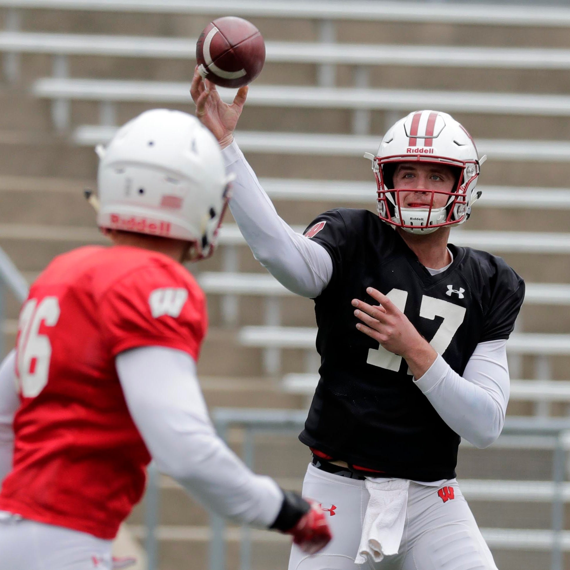 Badgers appear to have four quarterbacks capable of contributing if needed