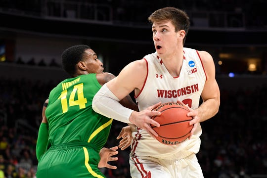 Ethan Happ was named the winner of the Kareem Abdul-Jabbar Award, which goes to the top center in college basketball, Friday night. Happ joins former UW standout Frank Kaminsky as Badgers who have won the award.