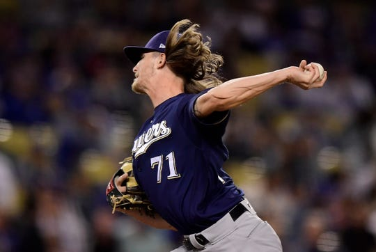 Josh Hader's performance has been the highlight for the Brewers' pitching staff. He didn't give up an earned run in his first six outings.