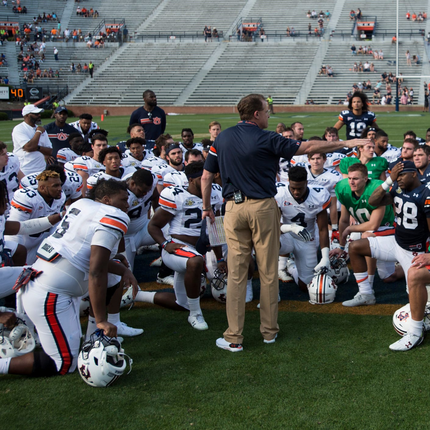 Projecting and analyzing Auburn depth chart at the end of spring football practice