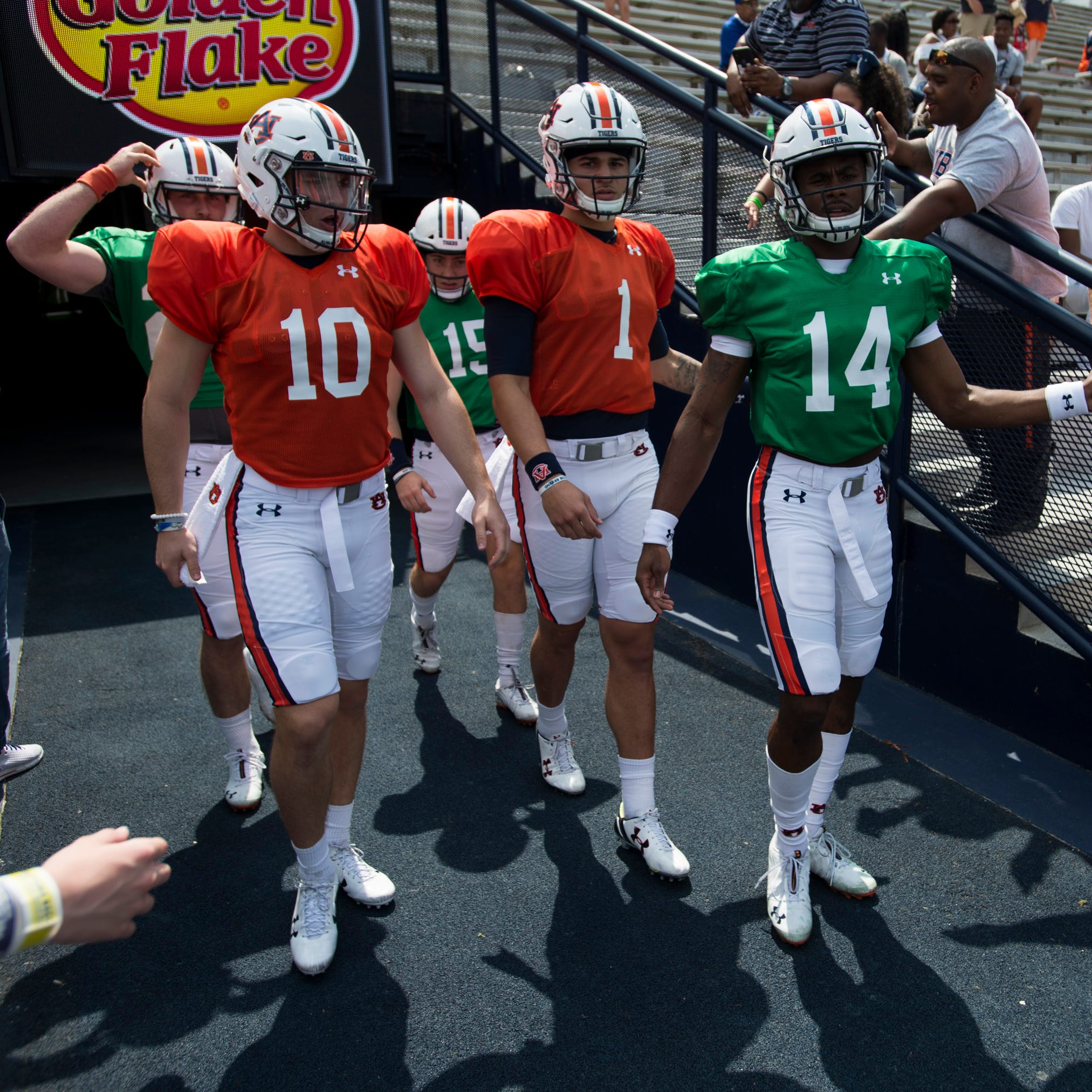 Quarterbacks Gatewood, Nix, Willis take turns in spotlight during Auburn's A-Day spring game