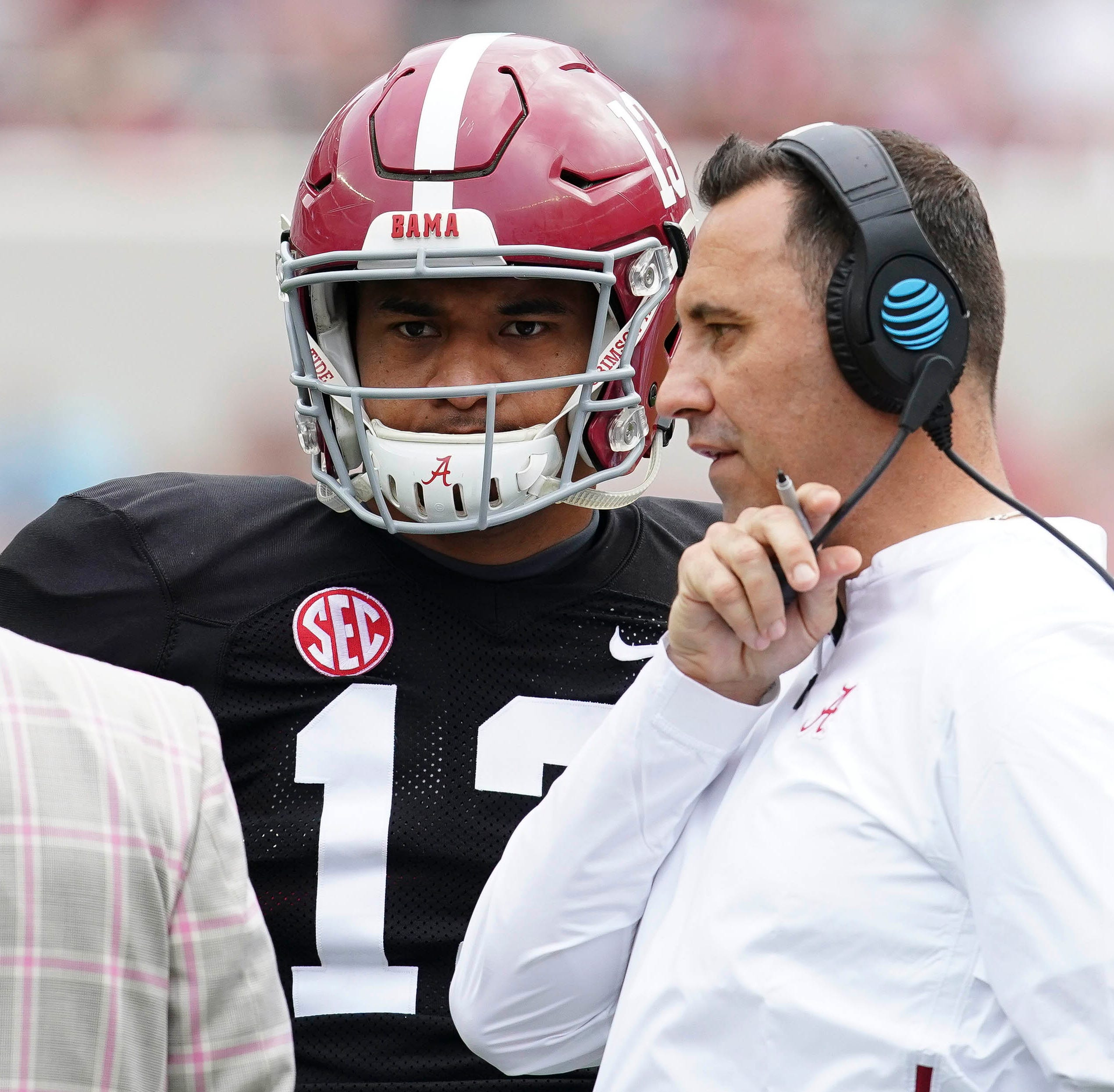 A-Day's offensive ineptitude even has Saban asking: 'What went wrong?'