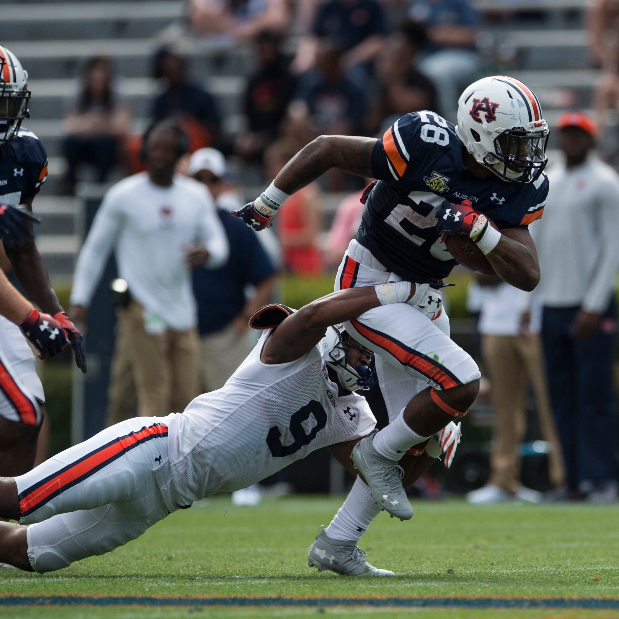 How JaTarvious Whitlow plans to improve in Year 2 as Auburn's top running back